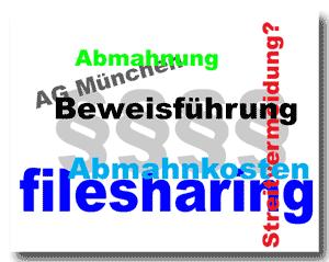 Keine Abmahnkosten ohne Filesharing-Beweis